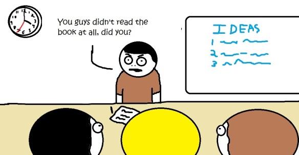 Didn't read the book