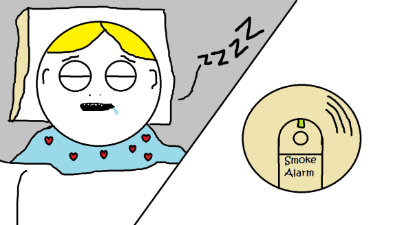 dead asleep