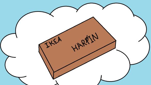 Heaven harp box